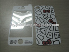 Colorful hello kitty skin sticker for apple iPhone 4/ 5/samsung galaxy s3