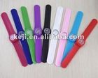 promotional silicone rubber wristband watch