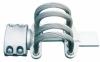 Expansion joint for tubular busbar