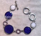 alloy fashion chain link bracelet