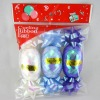 Curling ribbon egg / Ribbon bow