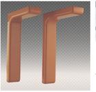 plastic-cover iron bracket