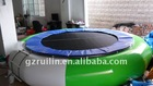 2011 hot sale inflatable water trampoline