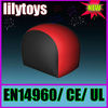 (Lilytoys!)Red edge of the black protective wall Inflatable paintball field bunkers BK-36JO