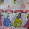Polyester cotton printed bed sheet