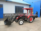 Hot Popular 20 hp Small Garden Tractor Loader Backhoe