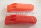 Sell ISO12402-8 Plastic Yellow/Red Emergency Whistle