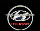 led car logo with names, laser lights with car logo Shadow light