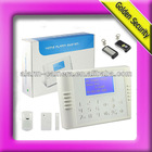 Wireless GSM home alarm system against burglar/thieves