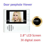 latest products in market door viewer with 2.8inch LCD screen