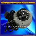 Vandal-proof Dome PLC IP IR Camera
