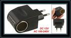 Black AC 100-240V to DC 12V 500mA Power Adapter Converter