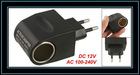 Black AC 100-240V to DC 12V 500mA Power Adapter Converter