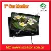 7inch car headrest monitor