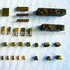 Brass Characters Print Types