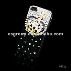 newly Promotional Cell phone shell with crown