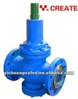 Pressure Reducing Valve for Liquids