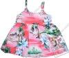 cotton poplin hawaii printed flower girls dresses