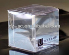 Plastic PP PVC PET Packing Box