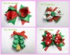 Chiffon Hair Bow Clip made by ribbon * 022)