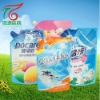 flexible printing and lamination packaging bag for liquid/plastic packing bag with spout for liquid detergent