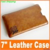 2012 hot! tablet pc leather cover