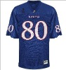 blue football jerseys OEM service
