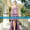 Taffeta short front long back prom dress 2012 BBN2027