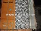 2mm EPE foam with aluminum film foil laminate flooring v groove single click