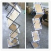 Z Shape Brochure Stand,literature rack