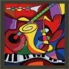 DIY/Digital Oil Painting of music world