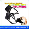 Black Small Medium Large Extra Large Dog Muzzle Muzzel Adjustable