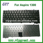 US layout keyboard for ACER Aspire 1300 laptop keyboard