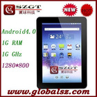 Teclast A15 1280x800 Android 4.0 9inch IPS Capacitive HDMI extra 3G 1.2GHz WIFI 3G Tablet PC