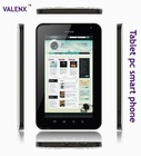 3G tablet pc smart phone 7 inch+ android4.0 +wifi+ bluetooth