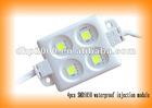 5050 4pcs Injection molding process Hi-power LED module