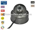 Wired Pan/Tilt IR IP Camera
