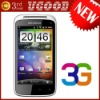 ew arrival unlocked phone MTK6573 4.0 Capacitive touch screen GPS WIFI 3G android Cell phones free shipping