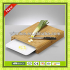 2013 new kitchen design bamboo cheap board cheese board plastic mat bamboo cutting board