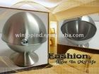 Stainless steel sugar bowl