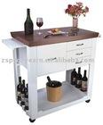 multipurpose wine trolley