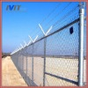 MT 50*50mm Chain link fence top barbed wire(Hot.Gal/PVC)