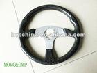 Carbon Fiber Racing Steering Wheel, Flat Steering Wheel