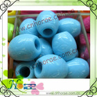 plastic colored beads with hole