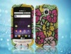 Rhinestone mobile phone case for LG MS690