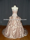 classical bridal embroidery wedding dress cls-004