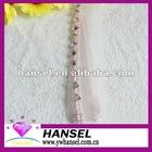 Single strap bra pink