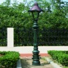 antique iron casting light pole