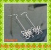 Latest new designer diamond butterfly earrings with chains
