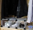 DIY home display steel rack with pp